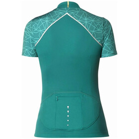 Mavic Sequence Graphic SS Jersey Women Everglade